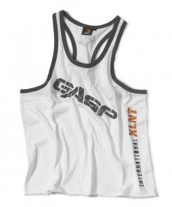 GASP Vintage T-back weiss - Tank Top Männer