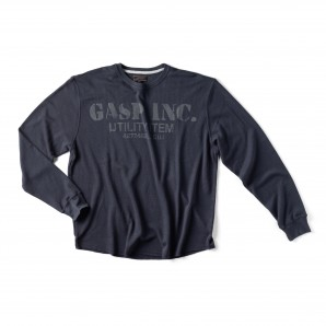GASP Thermal gym sweater asphalt L