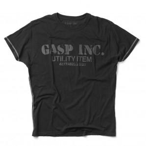 GASP Basic utility tee schwarz
