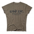 GASP Basic utility tee wash green L