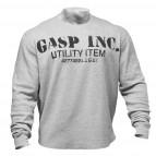 GASP Thermal gym sweater greymelange