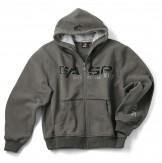 GASP 1,2 Ibs hoodie grau