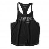GASP Deep cut tank schwarz