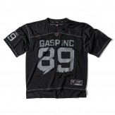 GASP No1 Football tee schwarz