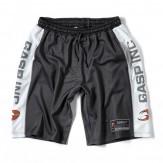 GASP No1 mesh short schwarz-weiß