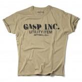 GASP Basic utility tee desert