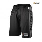 GASP raw mesh shorts schwarz